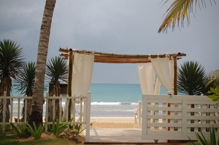 Entrada a la Playa Cosón