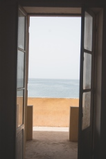 view to the sea