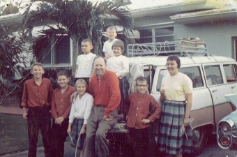 Family Vacation Glenwood City, Wisconsin to Miami. Florida