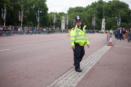 A vigilant policeman.