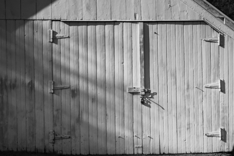 Stable Doors. Along the road on 89. You can practically reach out the car window and touch them with your hand.