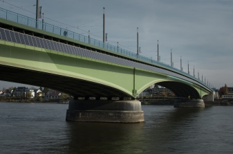 Bridge crossing the Rhine