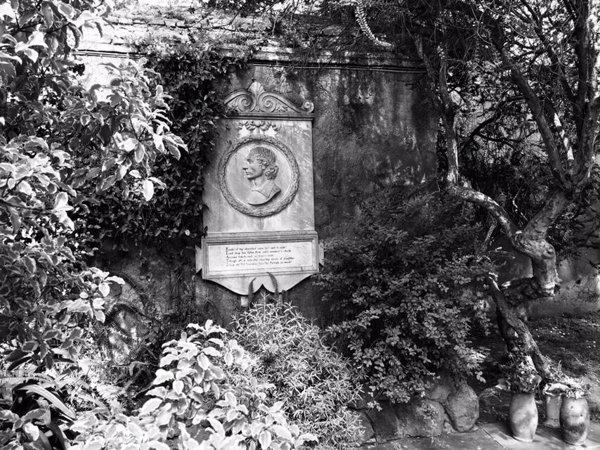 John Keats Plaque